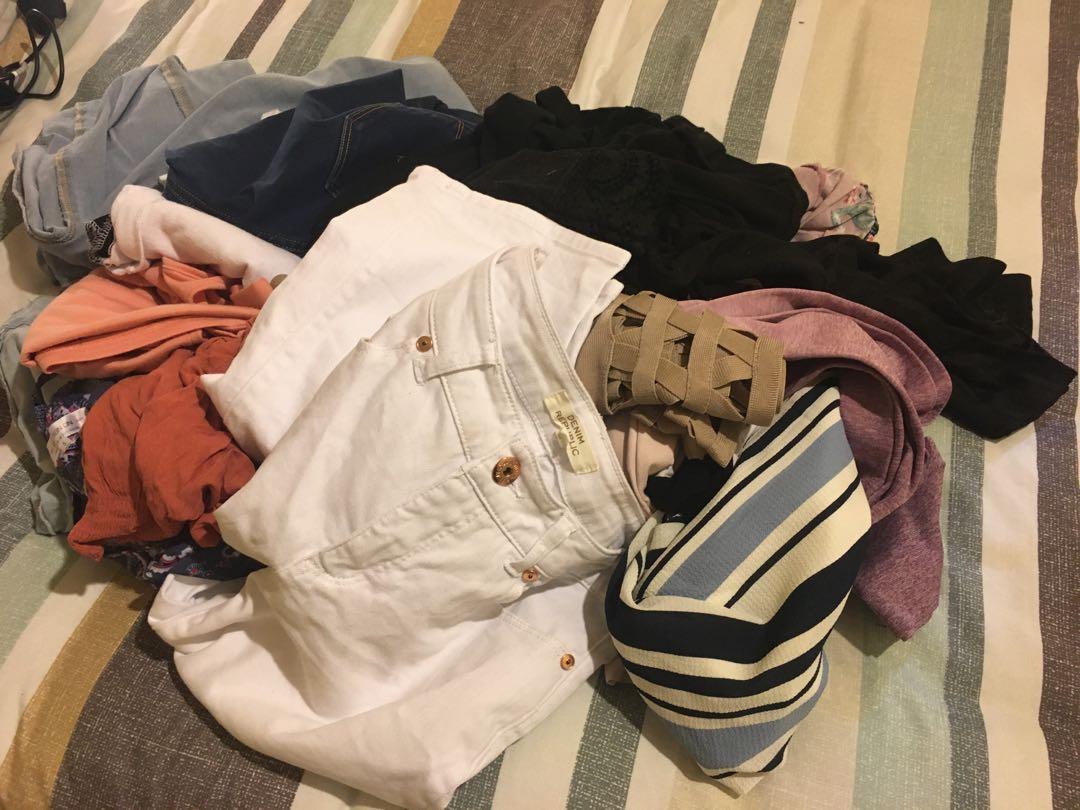 Random clothing bulk