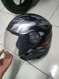 Rare Nego Helm Yamaha MTX Camo Size M