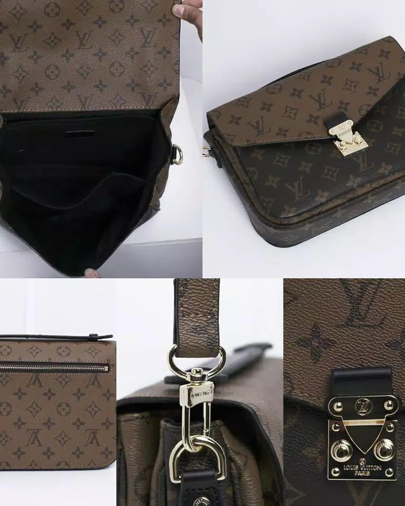 Tas Louis Vuitton Original Leather New with BOX Lengkap nomor seri cuss buat Kado Sgd Specialized dear  ♥️