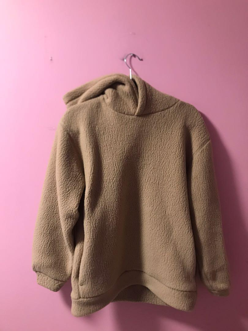 The Group by Babaton Lisa Hoodie in Gold Camel Size XS