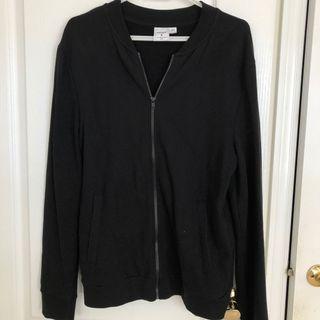 TOPMAN black bomber style sweater