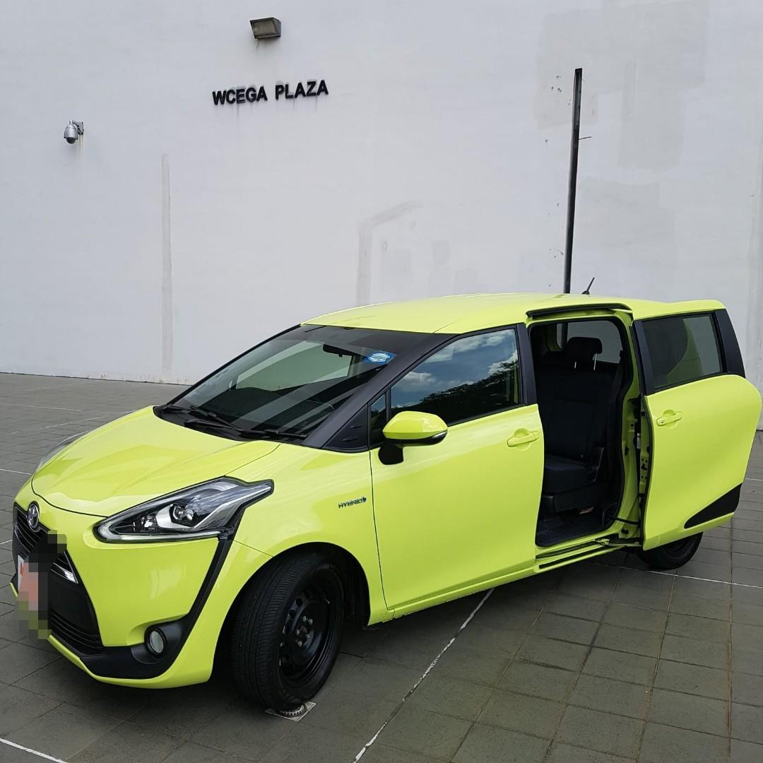 Toyota Sienta Hybrid Two Power Sliding Doors
