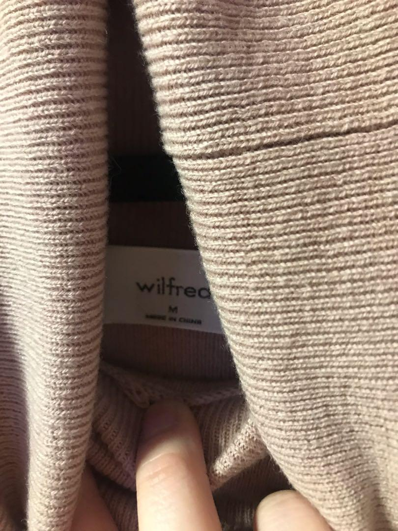 Wilfred Rebecca Sweater in Palazzo Pink Size Medium