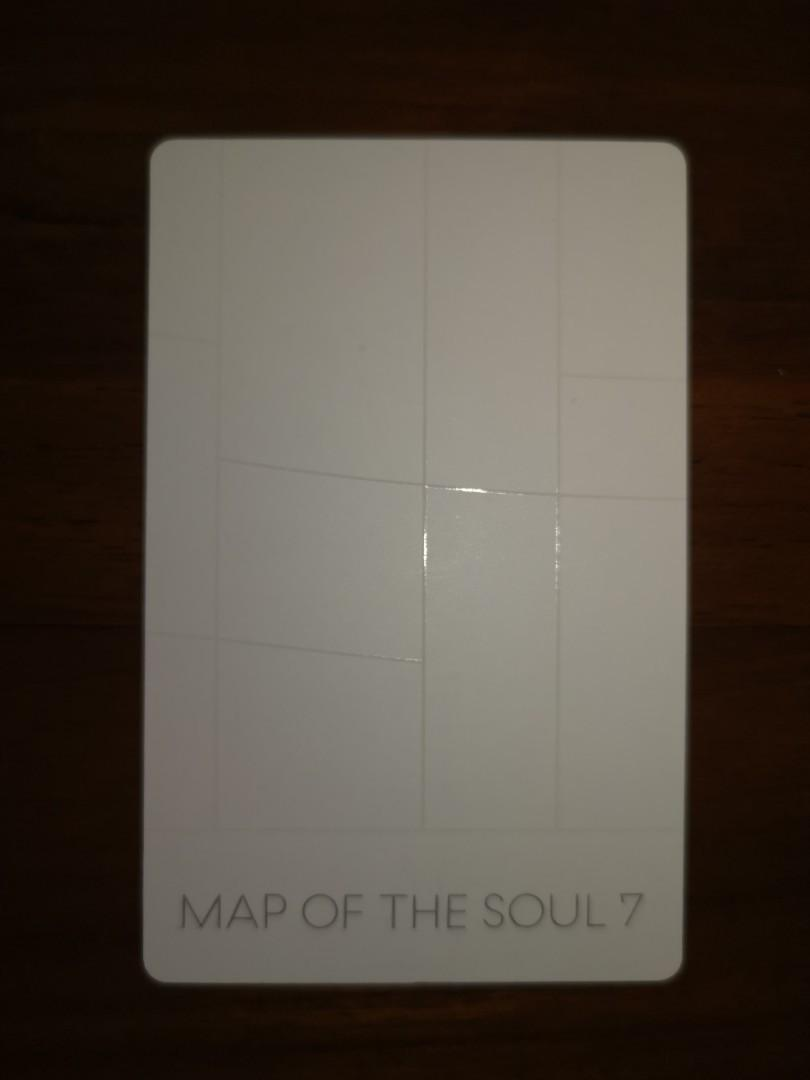 WTS BTS MOTS 7/MAP OF THE SOUL 7 JUNGKOOK VERSION 3 OFFICIAL PHOTOCARD