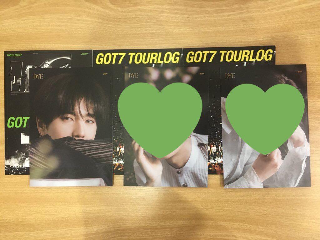 [WTS] GOT7 DYE Photocard, mirrorcard and lyrics postcard