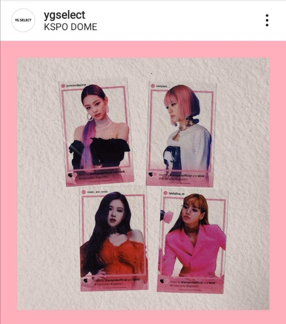 【WTS】PO BLACKPINK 2018 IN YOUR AREA SEOUL OFFICIAL PHOTOCARDS SET