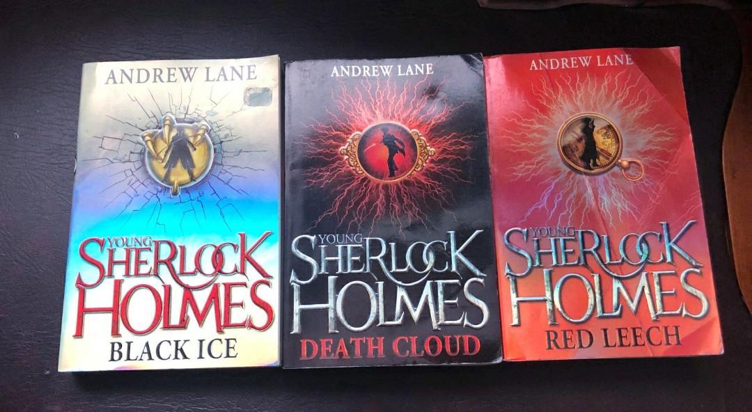 Young Sherlock Holmes Novels (3 books)