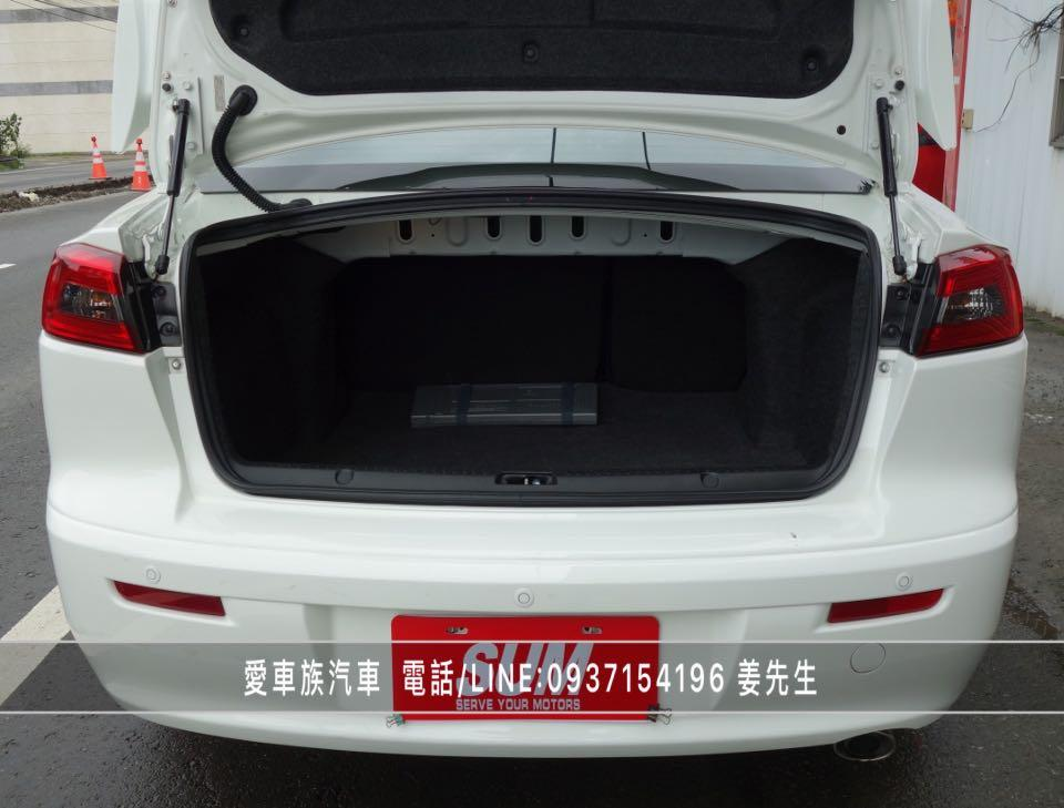 2013年 三菱 LANCER FORTIS 1.8 io版、本地一手車、原廠保養、里程僅跑5.9萬公里