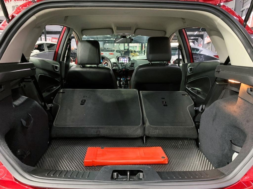 2015 Ford Fiesta Ecoboost 1.0t汽油小鋼炮最頂級款  全額貸款 超額貸款  找錢車 非自售 一手車/中古車