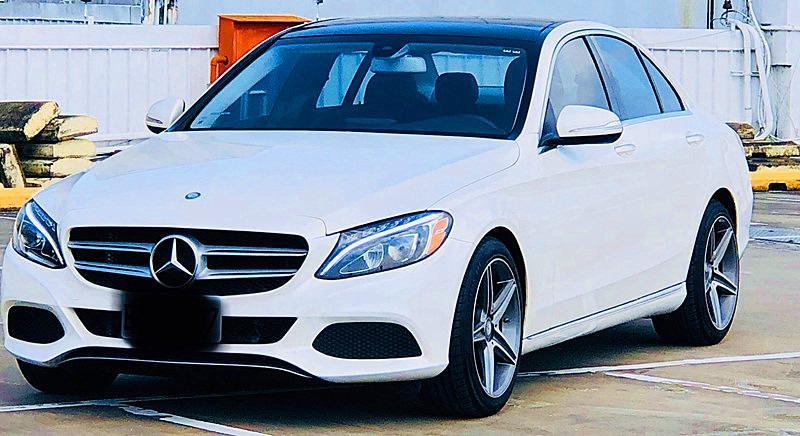 2015 Merceds-Benz W205 C300/2.0/白