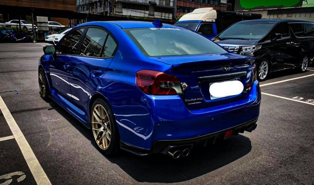 2015 WRX 藍 CVT 4WD