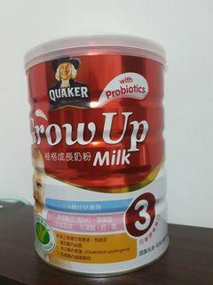 桂格成長奶粉三益菌配方