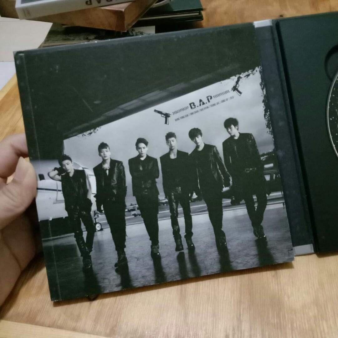[K-POP ALBUM PRELOVED] B.A.P - ONE SHOT (2ND MINI ALBUM)   ORIGINAL IMPORT FROM SOUTH KOREA