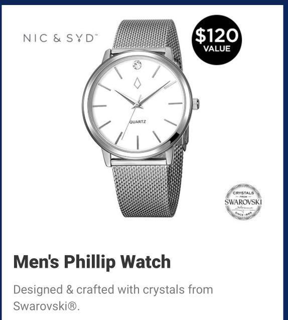 Brand New Swarovski Philip watch wAtch $55