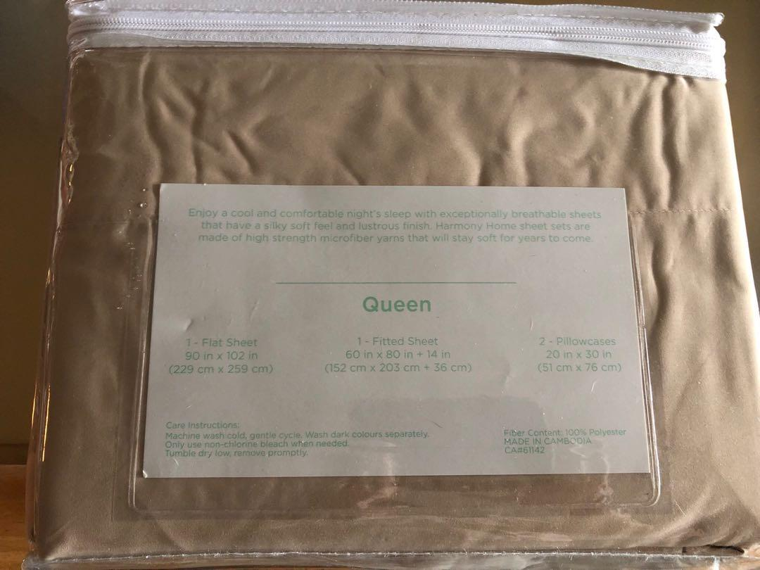 Brand New Queen Home Collection 4pcs Queen Bed Sheet set$28
