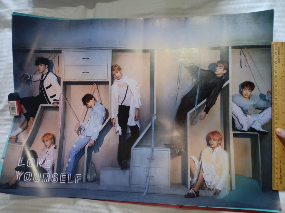 BTS official love yourself posters #CarouRaya2020.