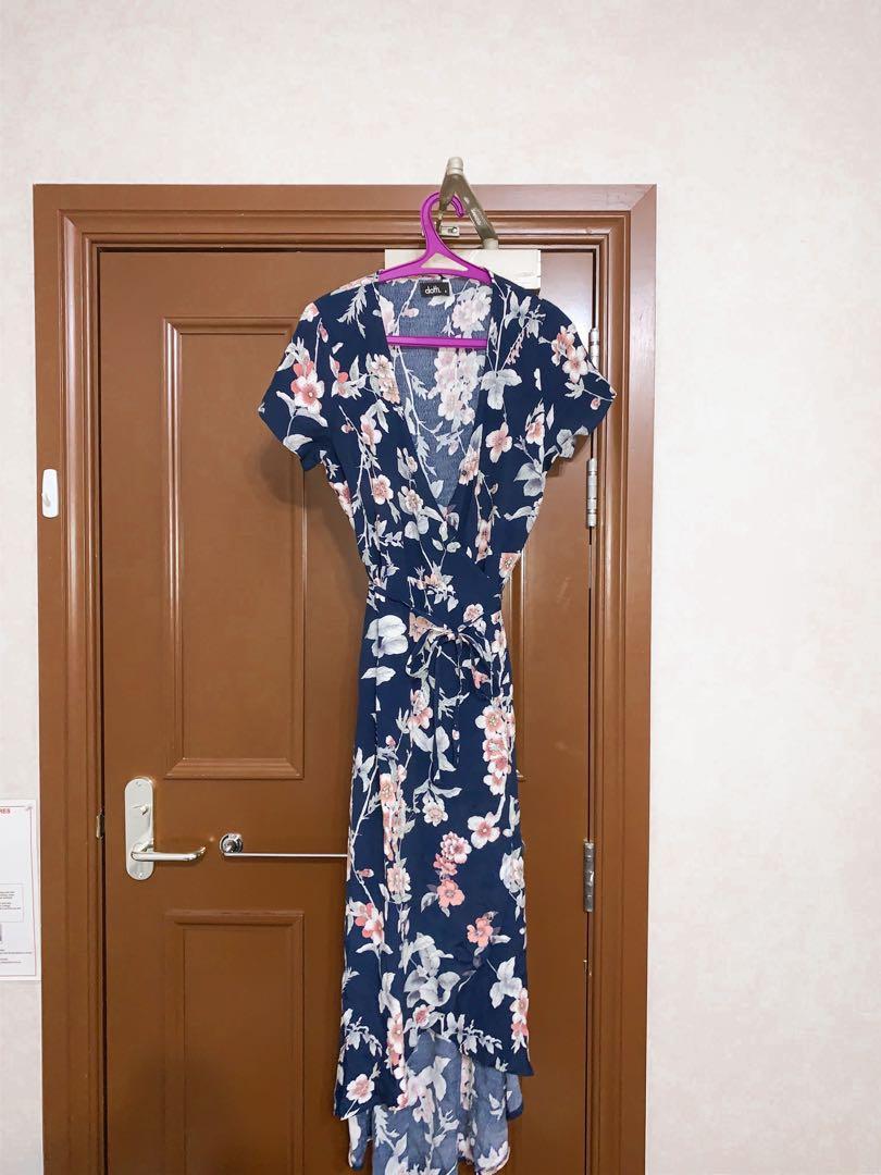 Dotti Maxi Wrap Dress