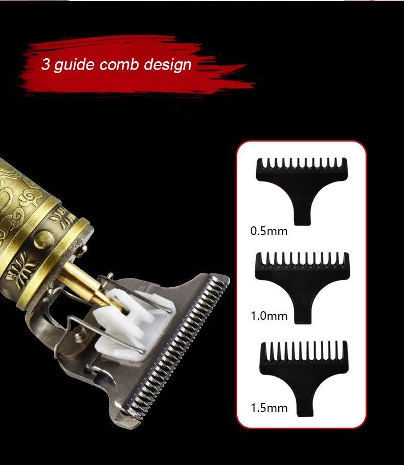 Electric Pro Li Liner Grooming Cordless Cutting T-Blade Trimmer