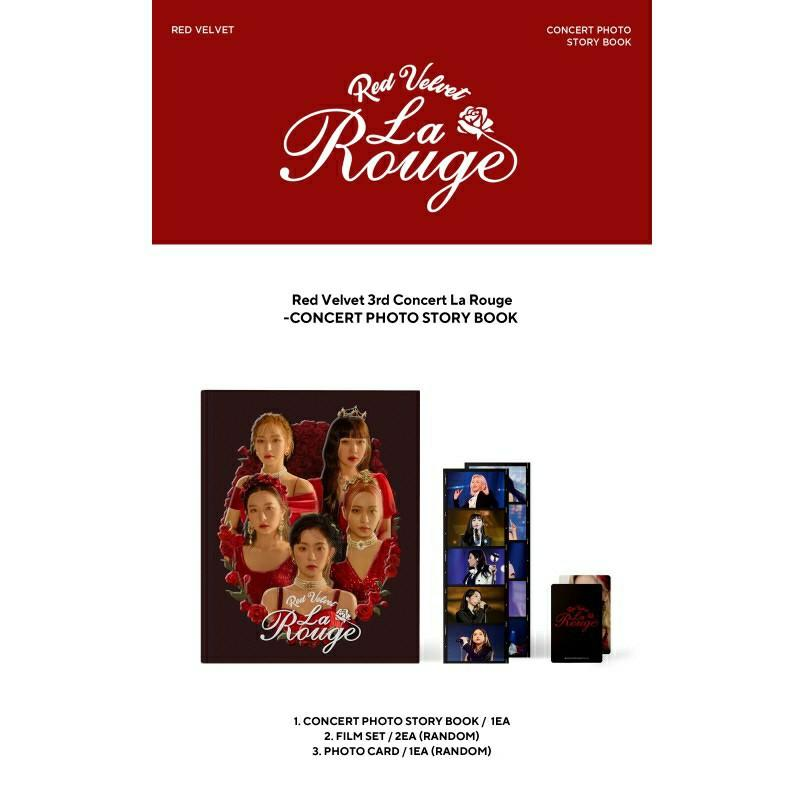 (FREE POSTAGE) Red Velvet 3rd Concert  – La Rouge Collection of Performing Arts