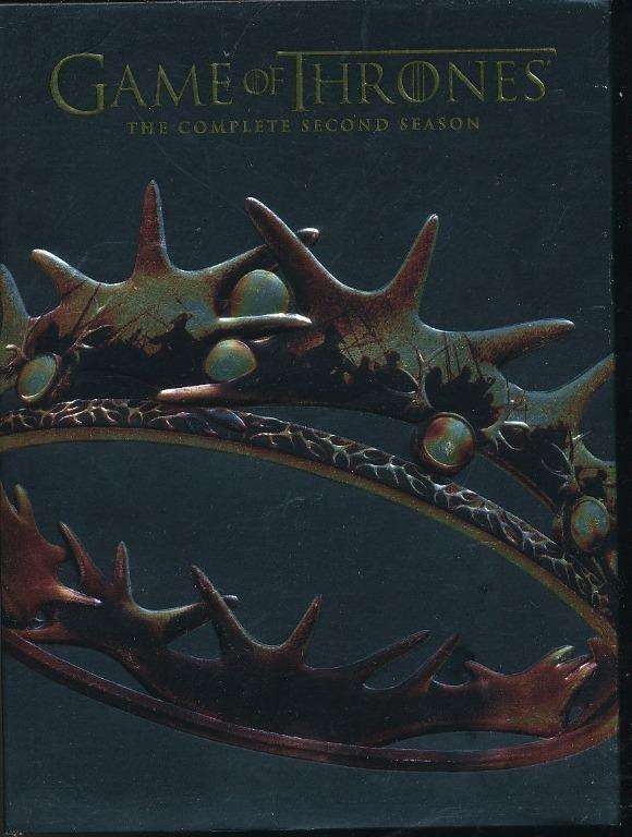 Game Of Thrones Season 2 5 Dvd Set Region 1 A3 Music Media Cds Dvds Other Media On Carousell