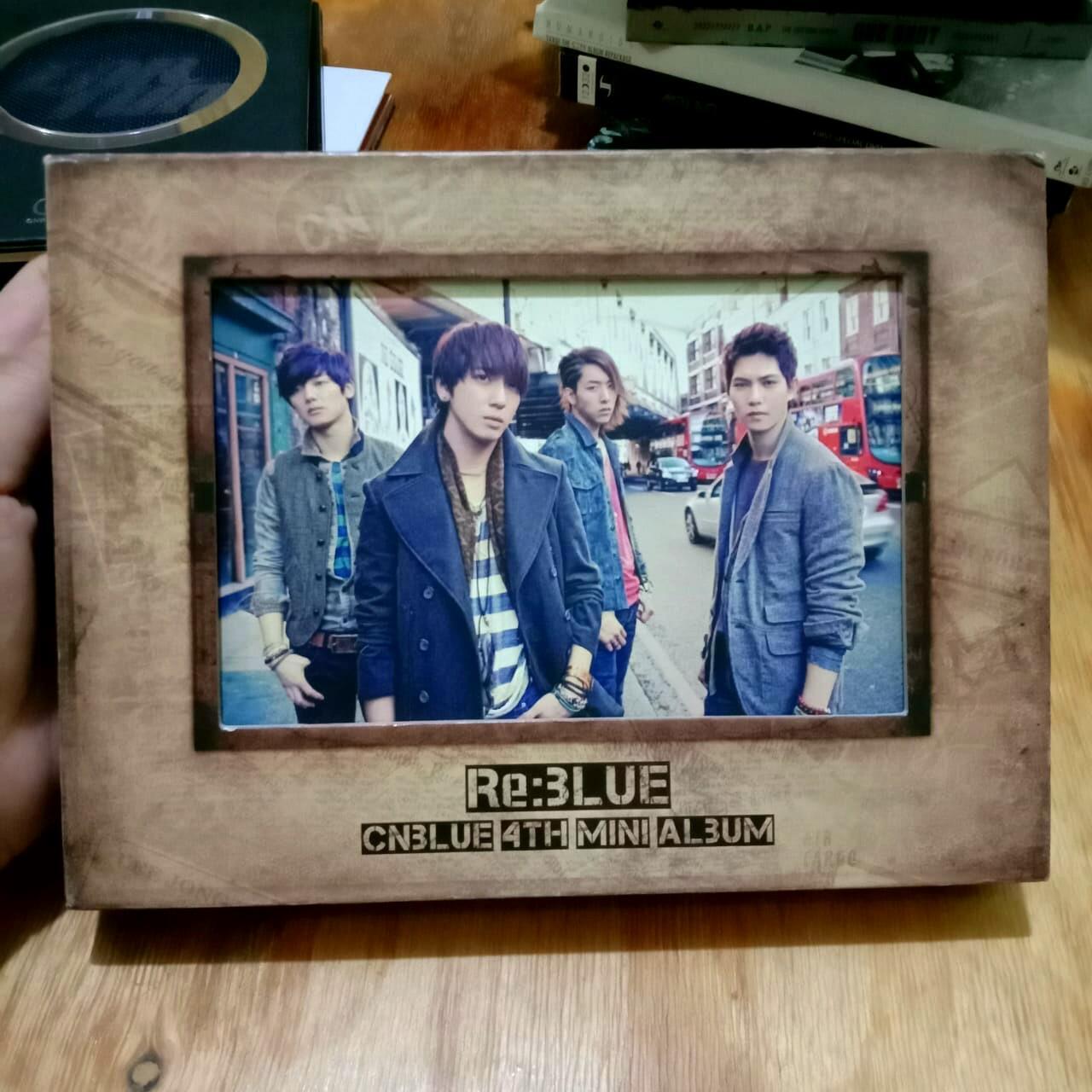[KPOP ALBUM PRELOVED] CNBLUE - RE:BLUE (4TH MINI ALBUM) | ORIGINAL IMPORT FROM SOUTH KOREA