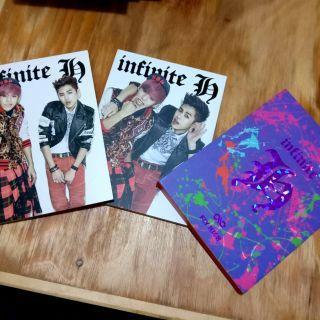 [K-POP ALBUM PRELOVED] INFINITE H - FLY HIGH   ORIGINAL IMPORT FROM SOUTH KOREA