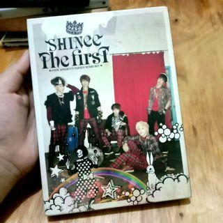 [K-POP ALBUM PRELOVED] SHINEE - THE FIRST (JAPAN VER. LIMITED EDITION)   ORIGINAL IMPORT FROM SOUTH KOREA