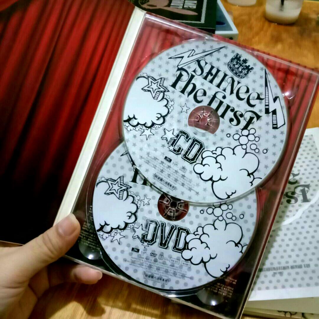 [K-POP ALBUM PRELOVED] SHINEE - THE FIRST (JAPAN VER. LIMITED EDITION) | ORIGINAL IMPORT FROM SOUTH KOREA