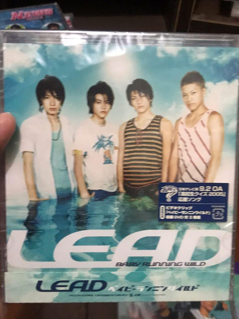 Lead cd dvd single album 專輯 單曲 日初