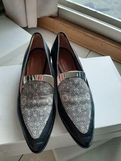 Maxmara 真皮鞋