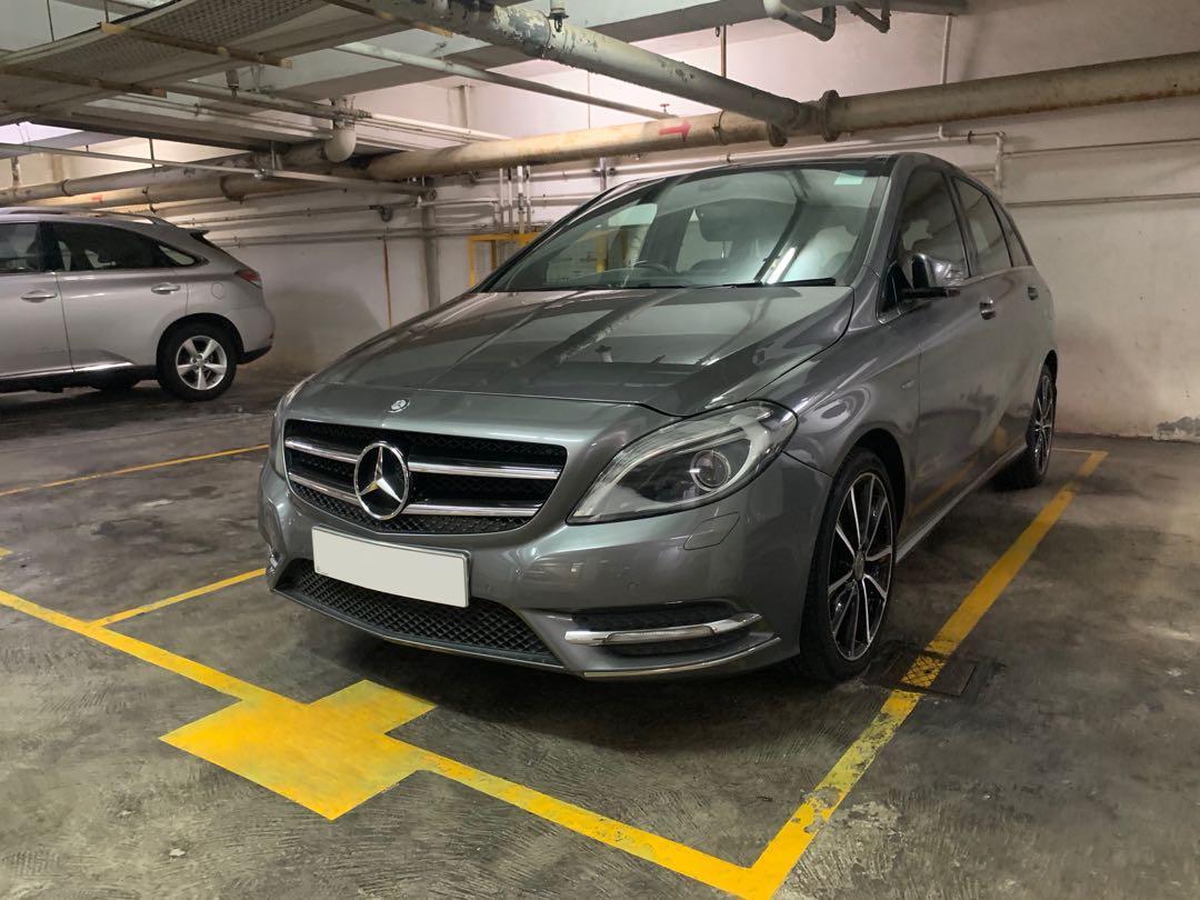 Mercedes-Benz B200 BlueEfficiency (A)