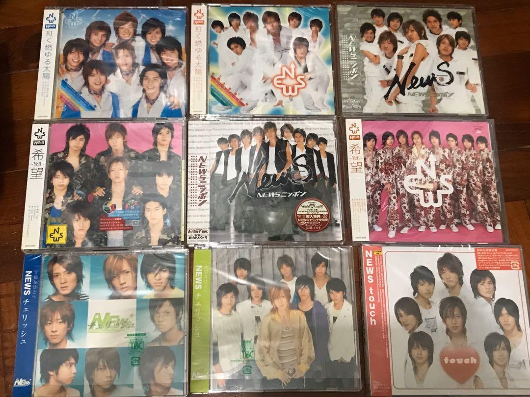 NEWS cd dvd single album 單曲專輯1