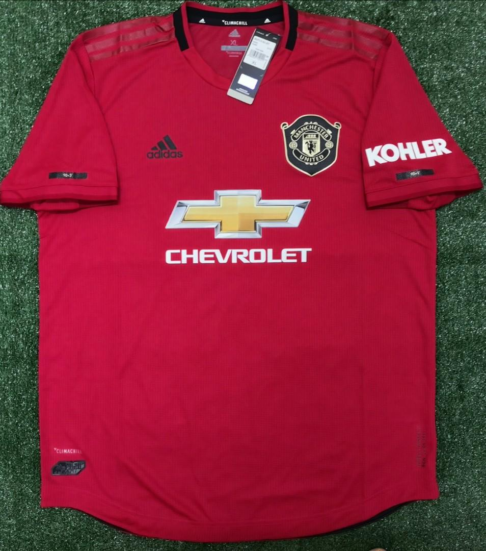Original Size Xl Player Issue Manchester United Home Jersey Jersi 2019 20 Sports Athletic Sports Clothing On Carousell