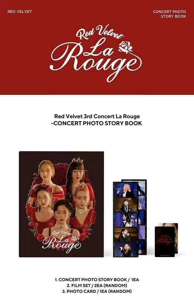 [Perorder]Red Velvet 3rd Concert La Rouge - Concert Photo Story Book