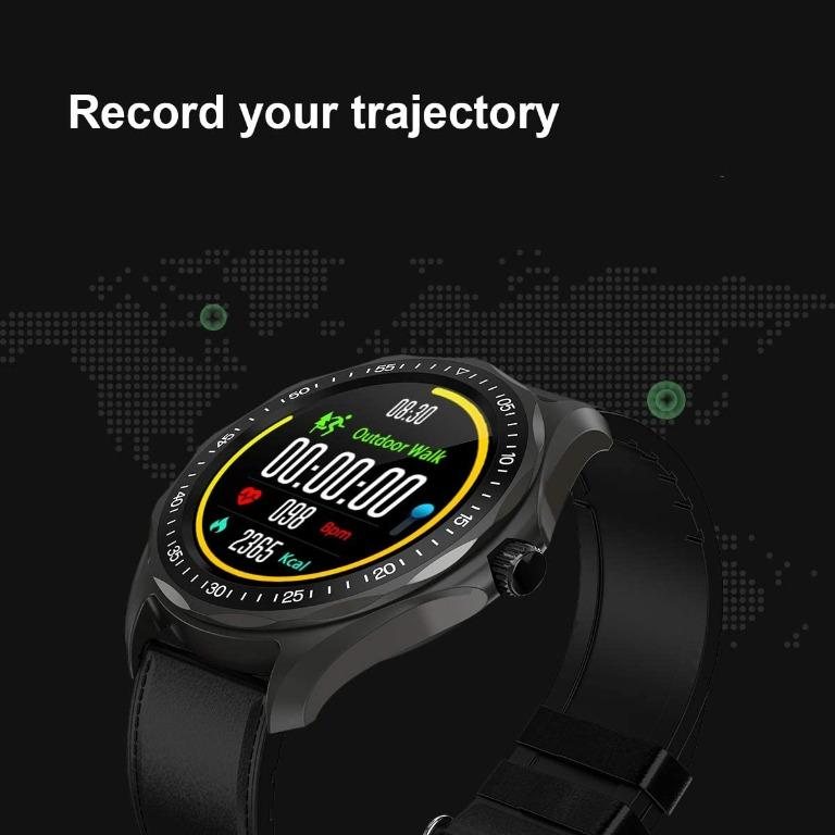 SENBONO S09 Smart Watch Round Full Touch Color Screen IP68 Waterproof eart Rate Fitness Monitoring Multiple Sports Modes Smartwatch