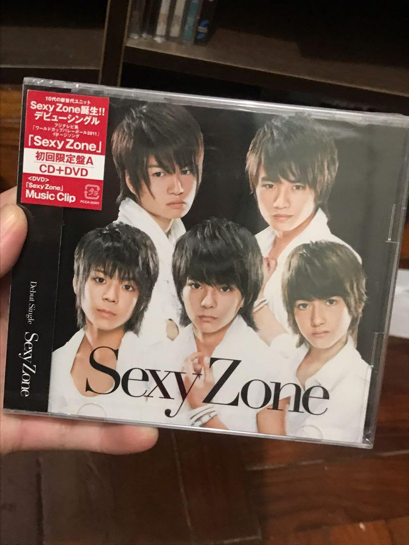 Sexy Zone Single Album CD DVD 日初