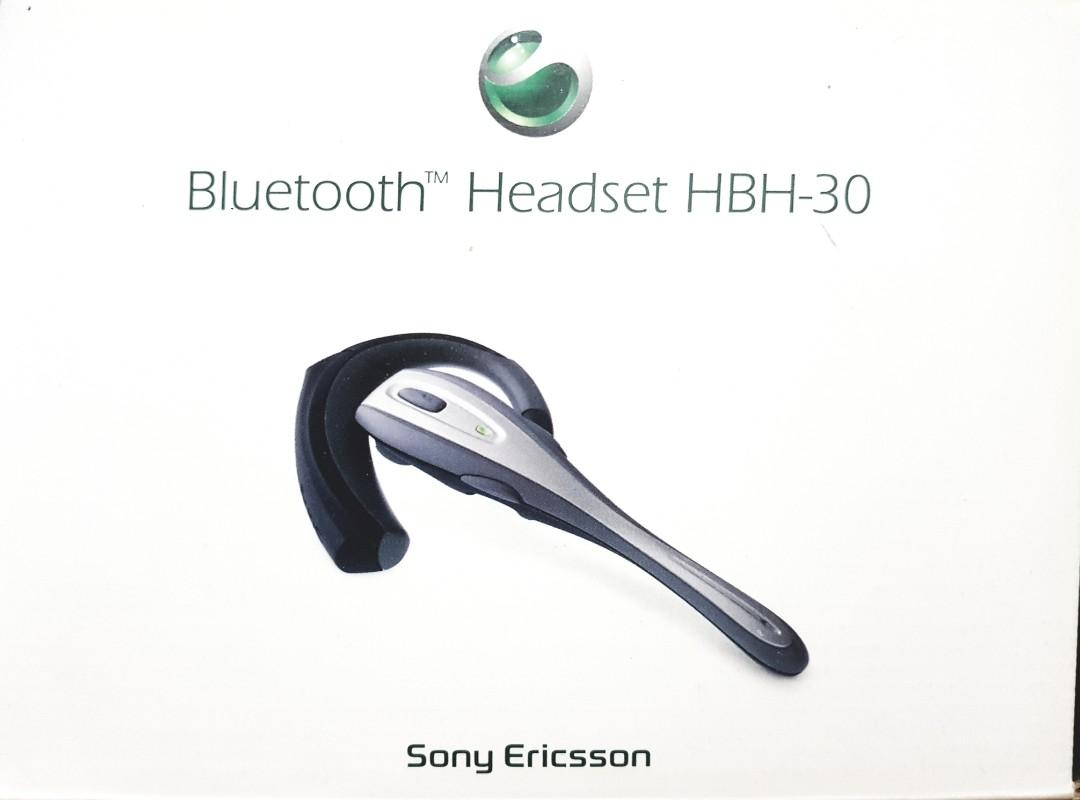 Sony Ericsson Bluetooth headset in box