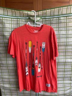 Timberland男短袖T恤(橘紅)