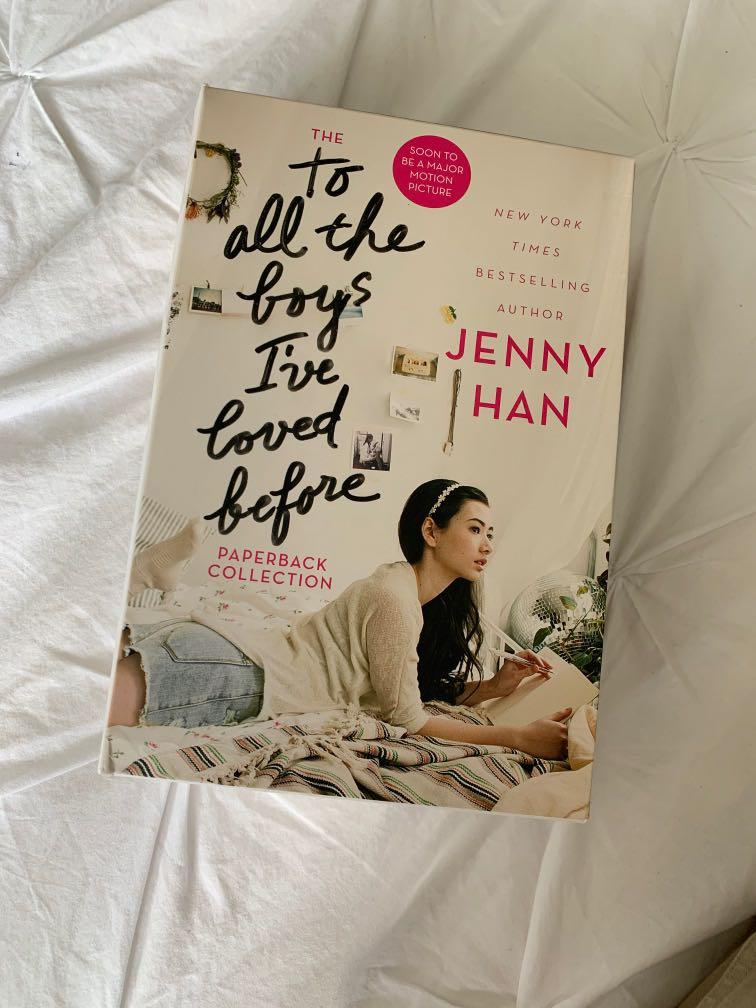 to all the boys i've loved before paperback collection