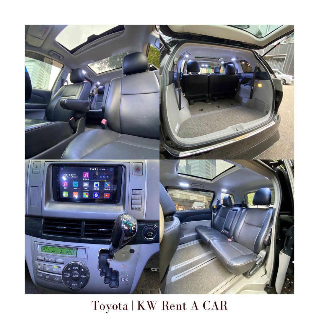 Toyota Estima 租車 八人車 Auto