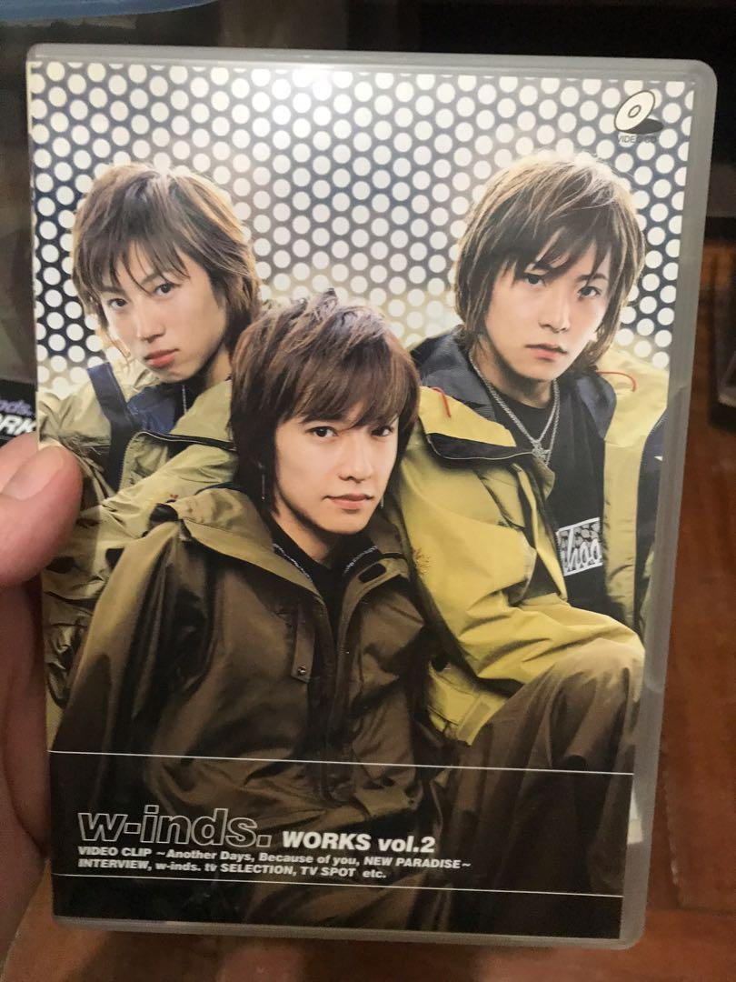 w-inds. DVD 演唱會2