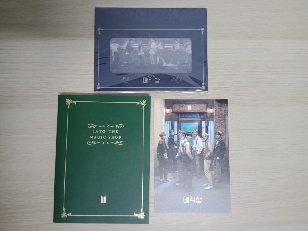 [WTS] BTS 5TH MUSTER UNSEALED LOOSE SET READY STOCK
