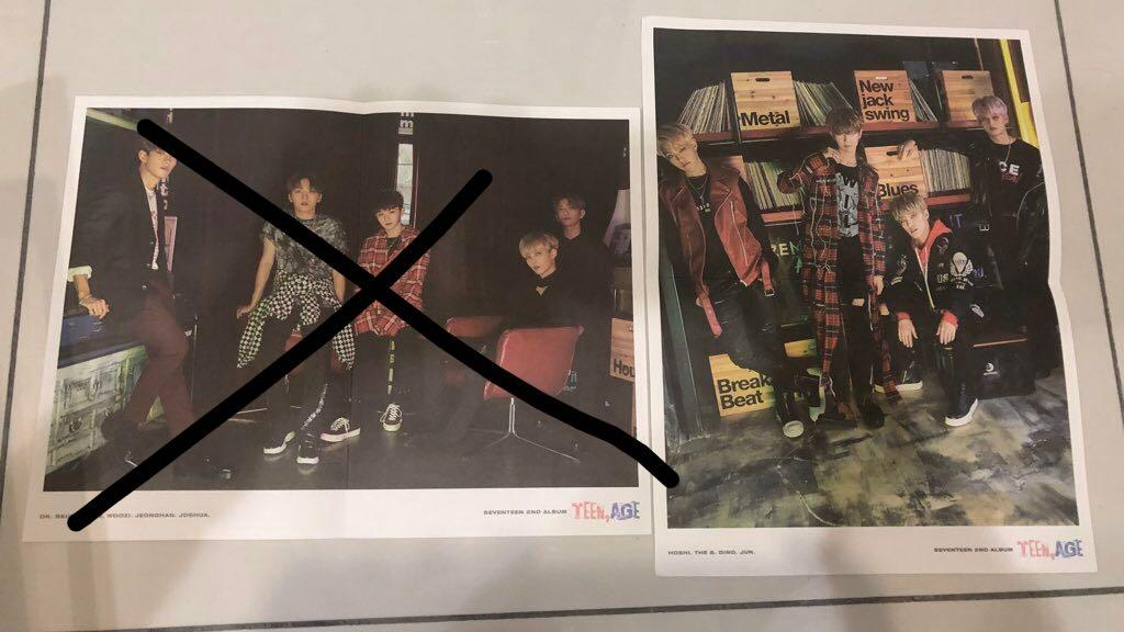 wts teen,age vocal & performance unit mini posters