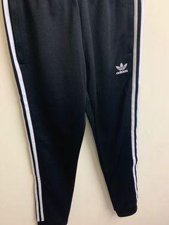 Adidas 三葉草縮口三線褲