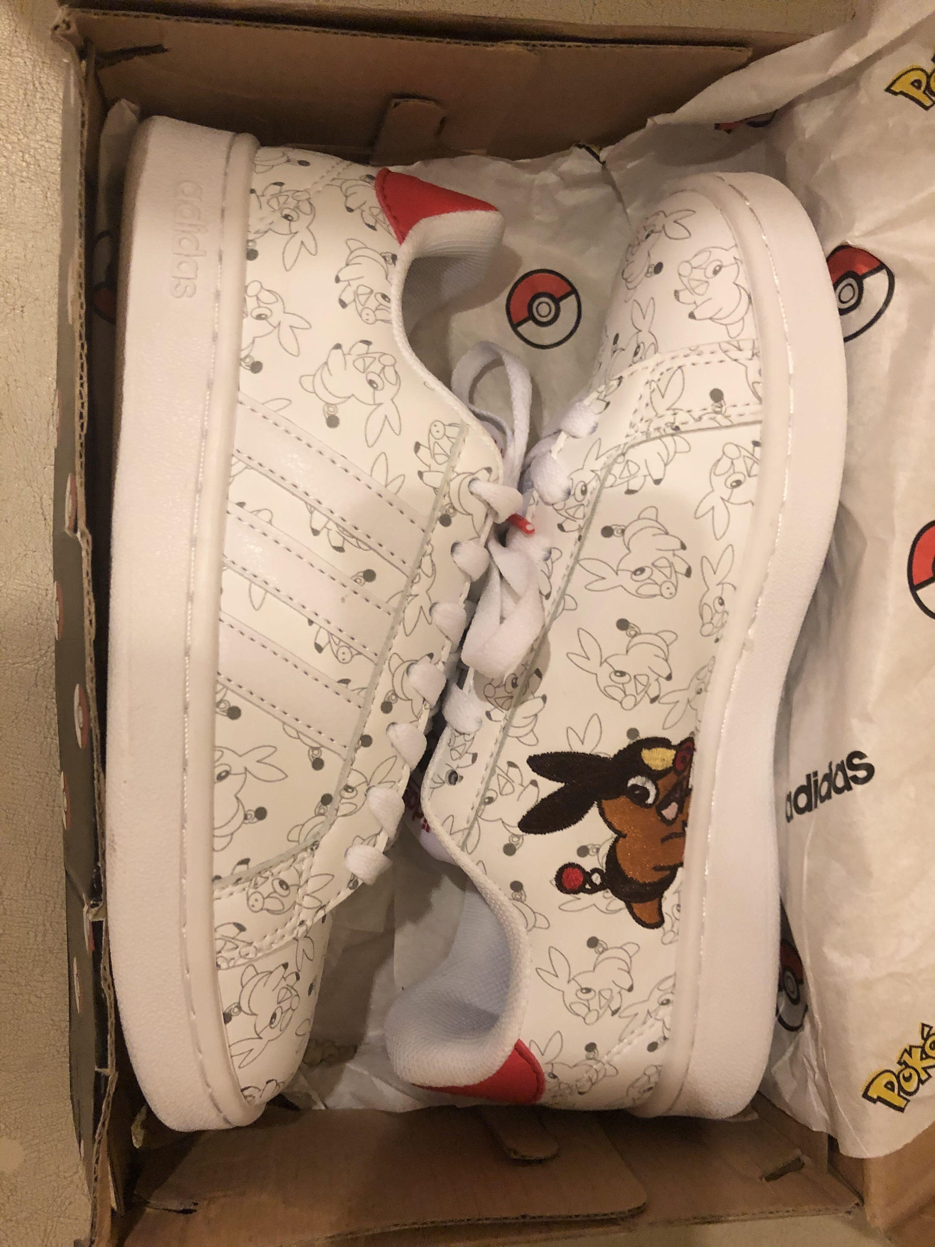 Electrizar Último Completamente seco  INSTOCK]Adidas Stan Smith x Pokemon Pokémon Pikachu Clover Joint Smith  Sports Sneakers Shoes, Women's Fashion, Shoes, Sneakers on Carousell
