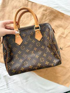 Authentic Louis Vuitton Monogram Speedy 25 - Date code added for authentication!