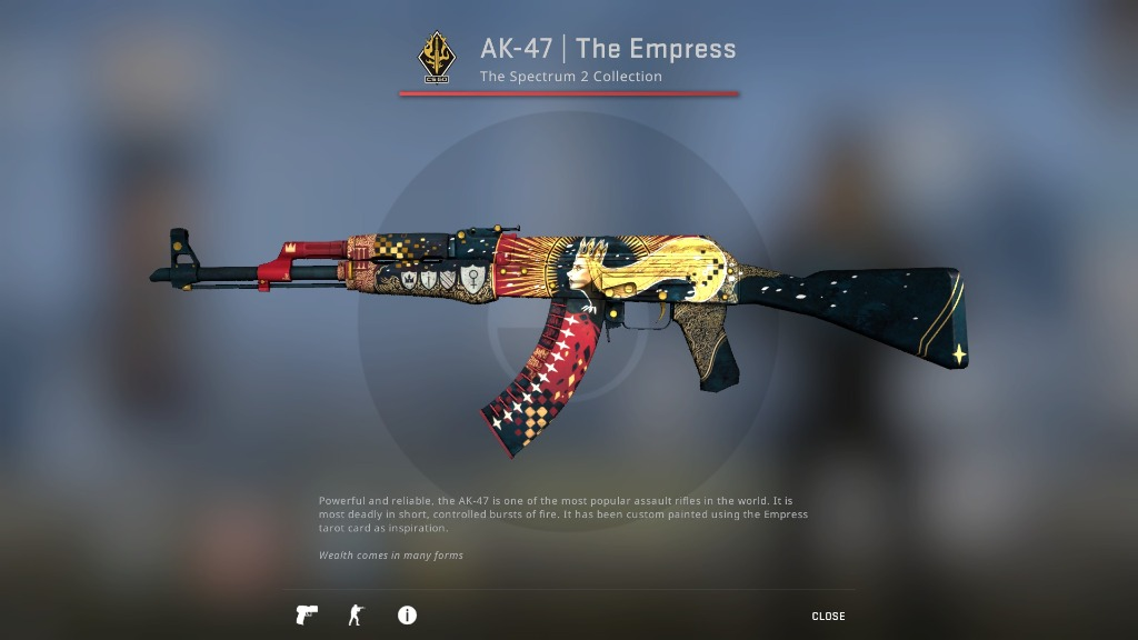 CSGO AK-47 | The Empress (Factory New) _csgo skins _csgo ak47 skin, Toys & Games, Video Gaming, In-Game Products on Carousell