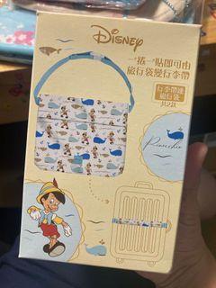Disney Pinocchio 迪士尼小木偶 旅行袋行李帶一物二用 #防疫