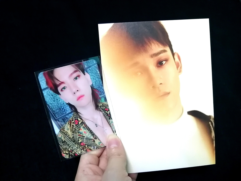 EXO Official PC, Baekhyun,Chen Photocard, Kokobop/For Life