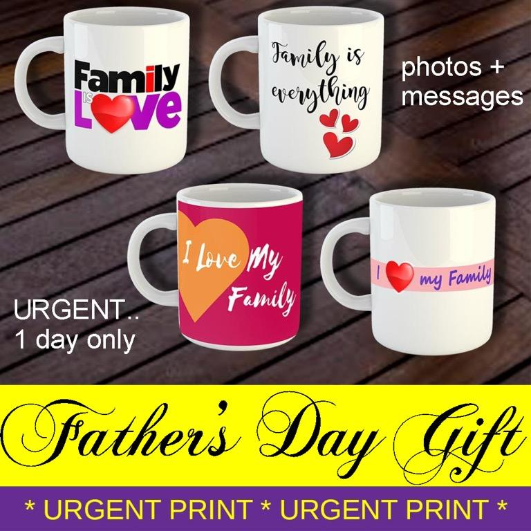 FATHER'S DAY | MOTHER'S DAY GIFT PERSONALISED COFFEE MUG / CUSTOMISED PHOTO COFFEE MUG / PERSONAL GIFT / BIRTHDAY GIFT